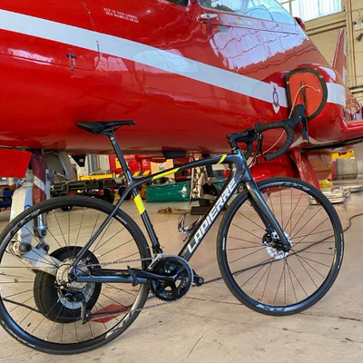 Lapierre Bike at RAF Coningsby